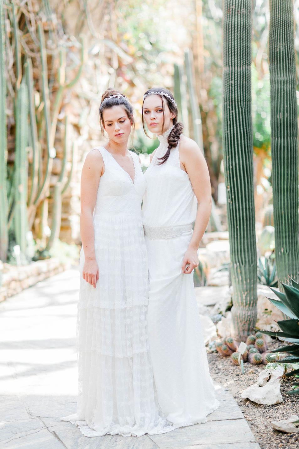 Boho Hochzeitskleider Dana und Daphne