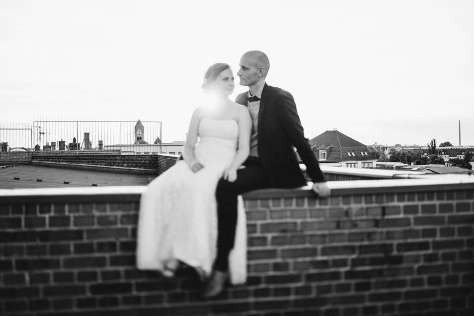 Besondere Hochzeit mit besonders schönen Brautpaarbildern