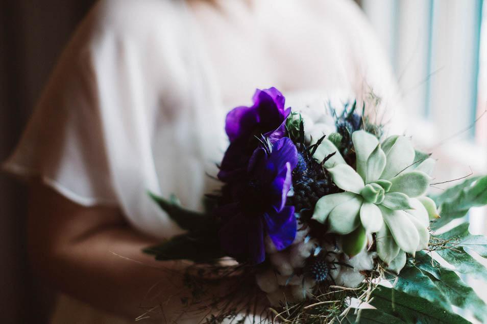 Brautstraußdetails