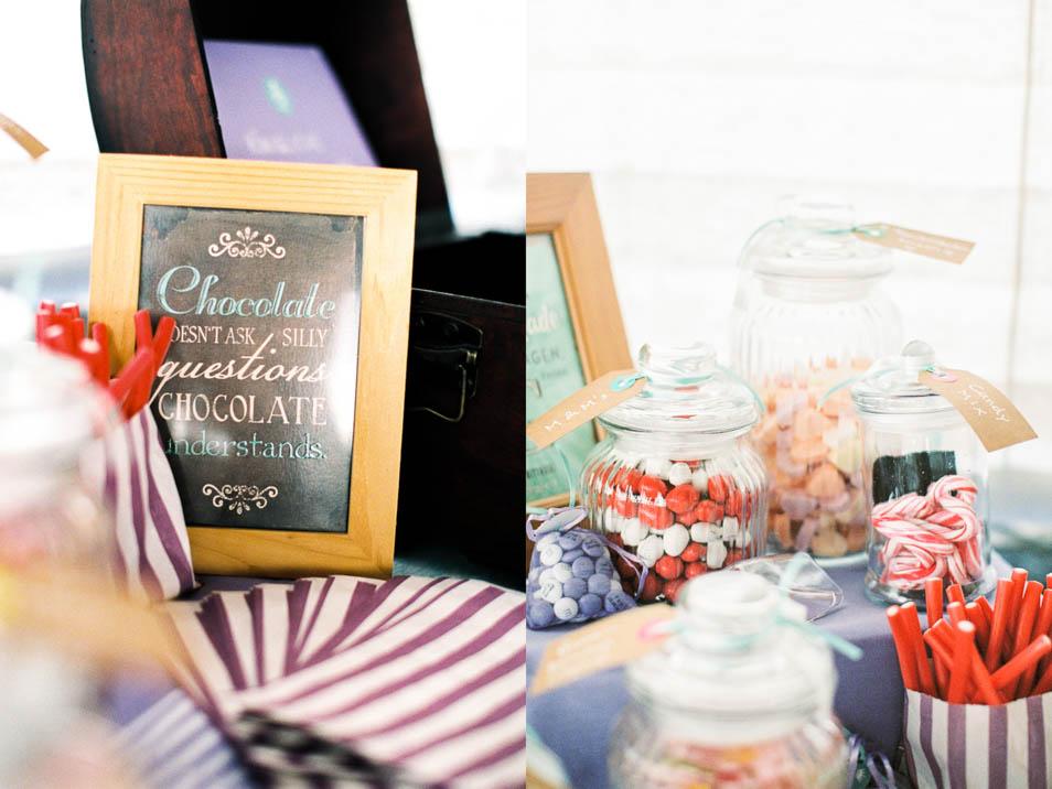 Chocolate Bar bei Hochzeit