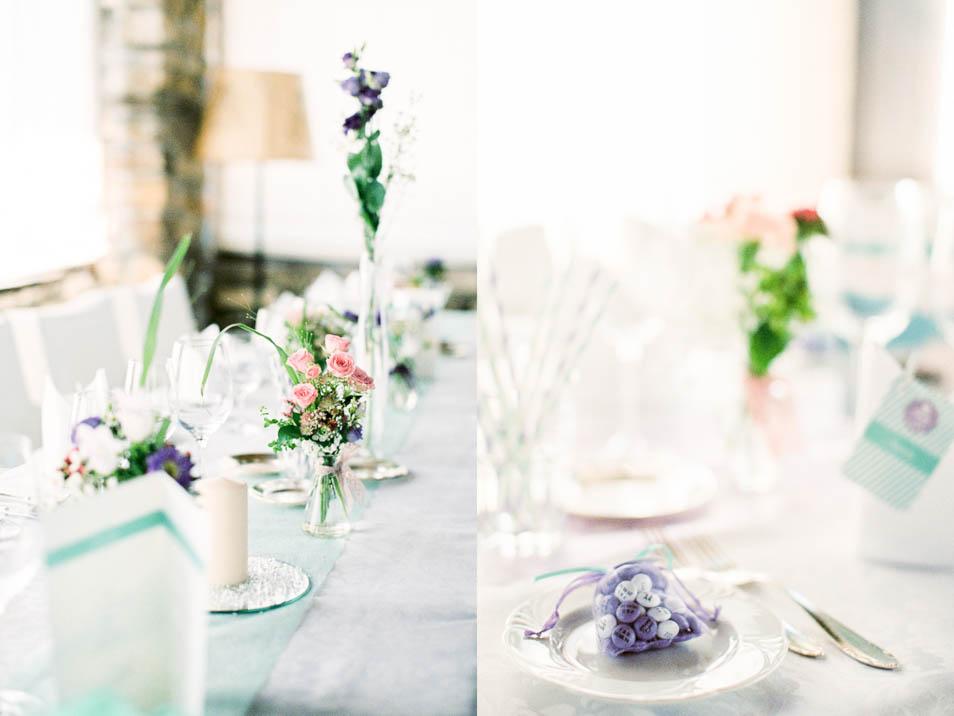 Schokoperlen als Gastgeschenke bei Hochzeit