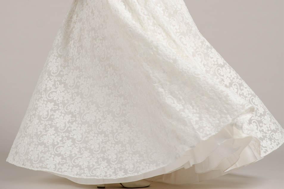 Brautkleider 2018 Stoffe