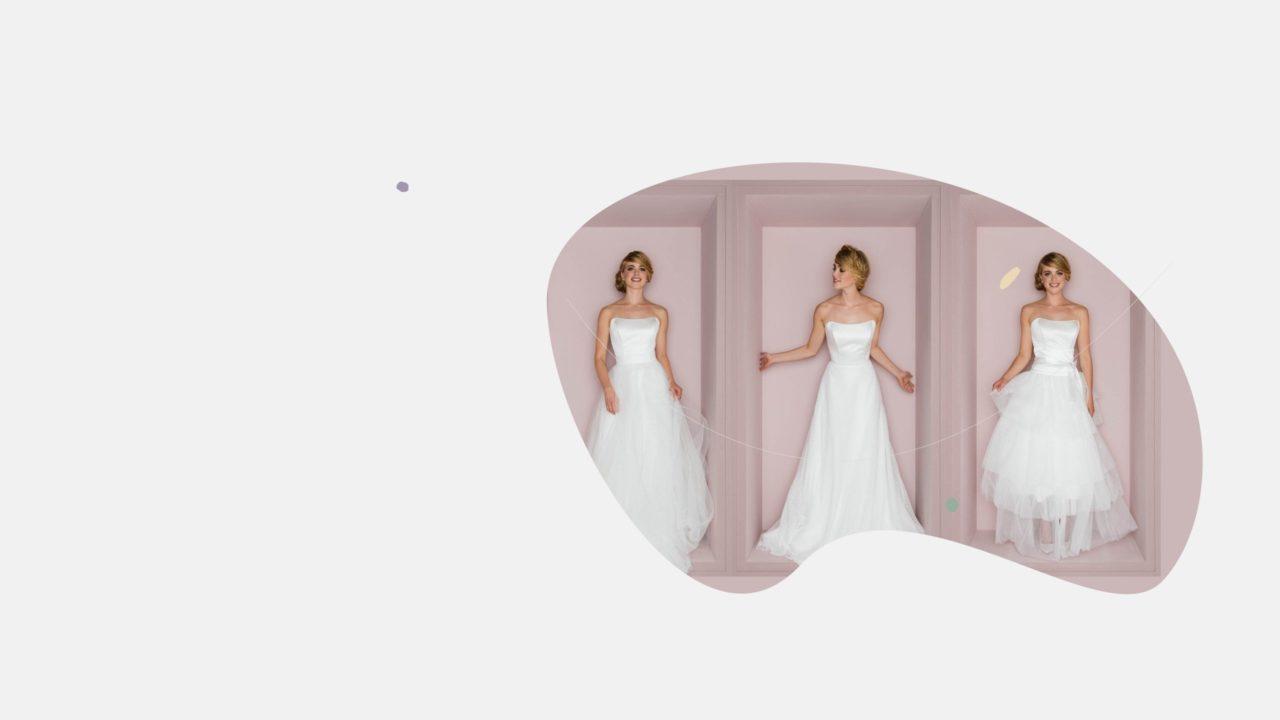 Brautröcke aus Tüll