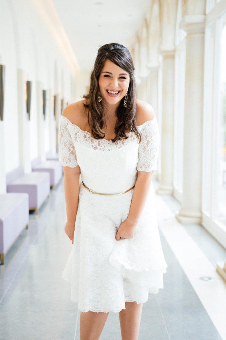 Vintage Brautkleid große Größe