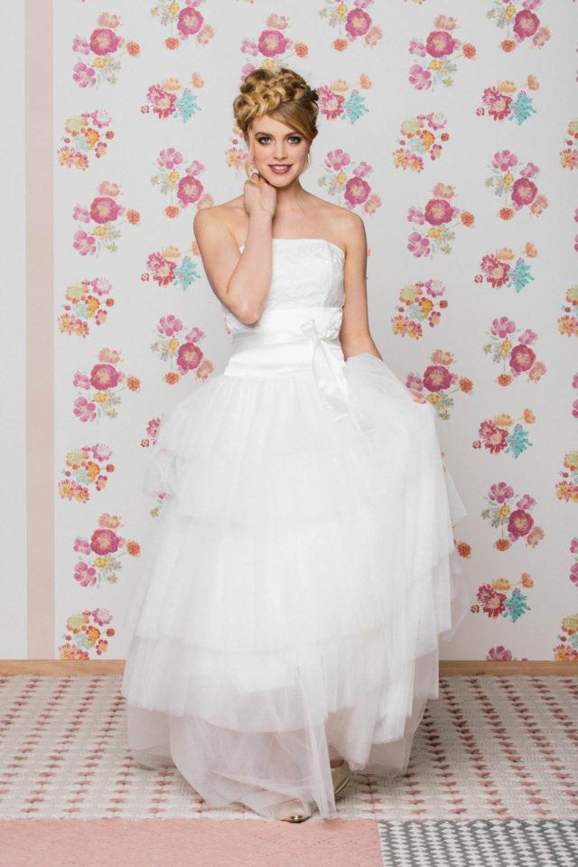 Brautröcke aus Tüll – für kurze und lange Brautkleider