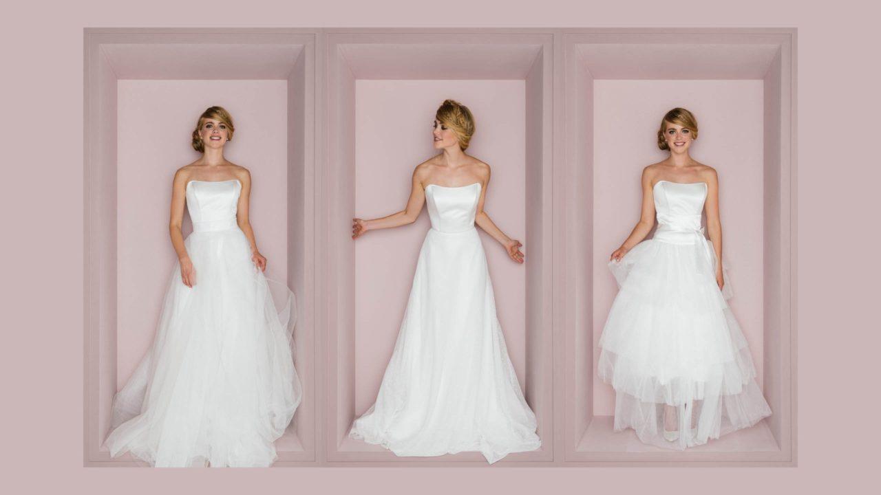 Brautrock zur Hochzeit