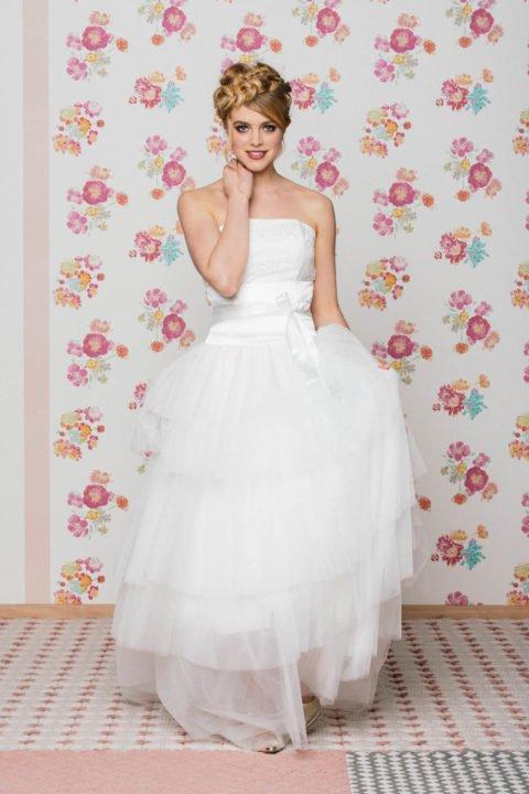 Tüllrock zum kurzen Brautkleid