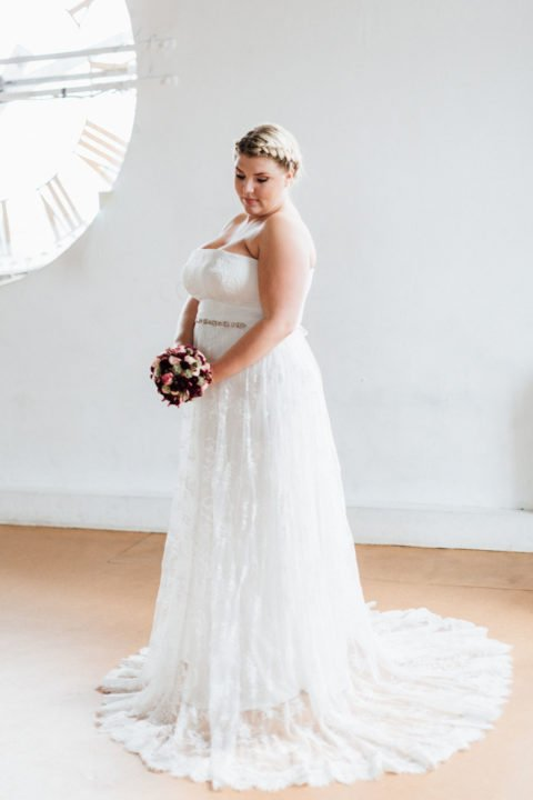 Brautkleid Größe 48 50 52 Carmen