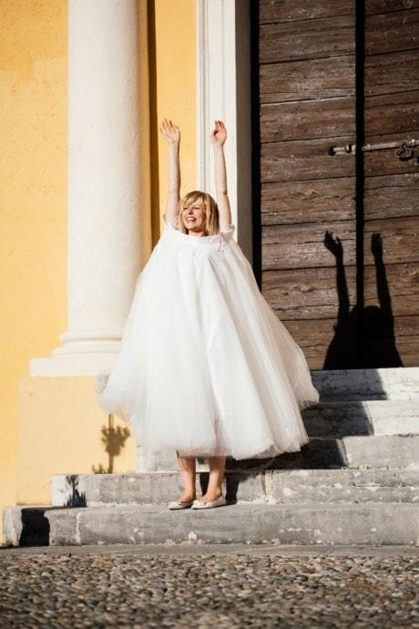 Brautrock aus Tüll – für kurze und lange Brautkleider – Zuzu