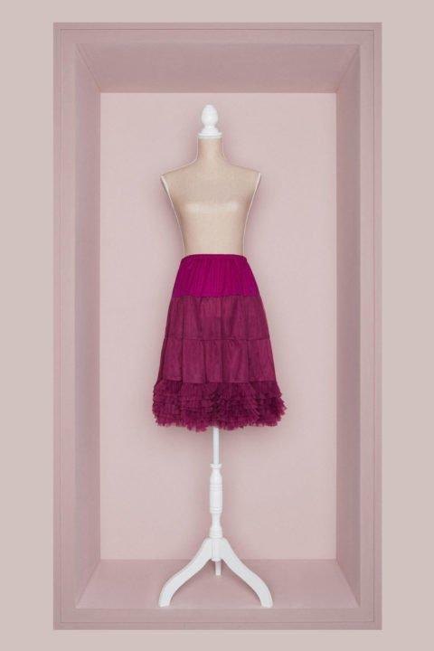 Petticoat Braut fuchsia