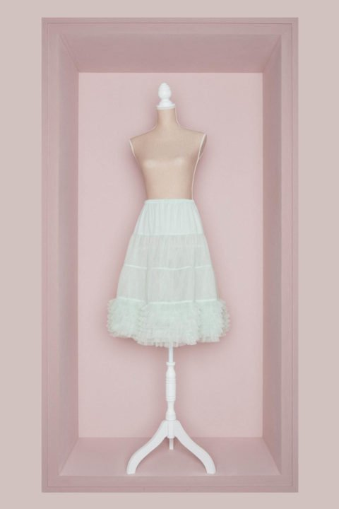 Petticoat Brautkleid mint