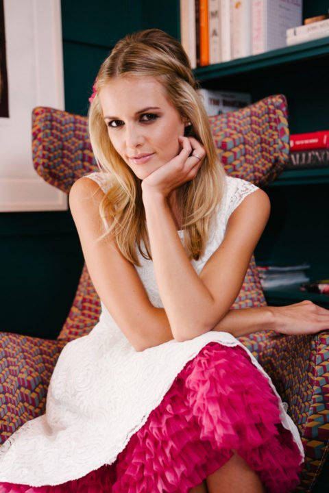 Petticoat Seidenband Brautblüte