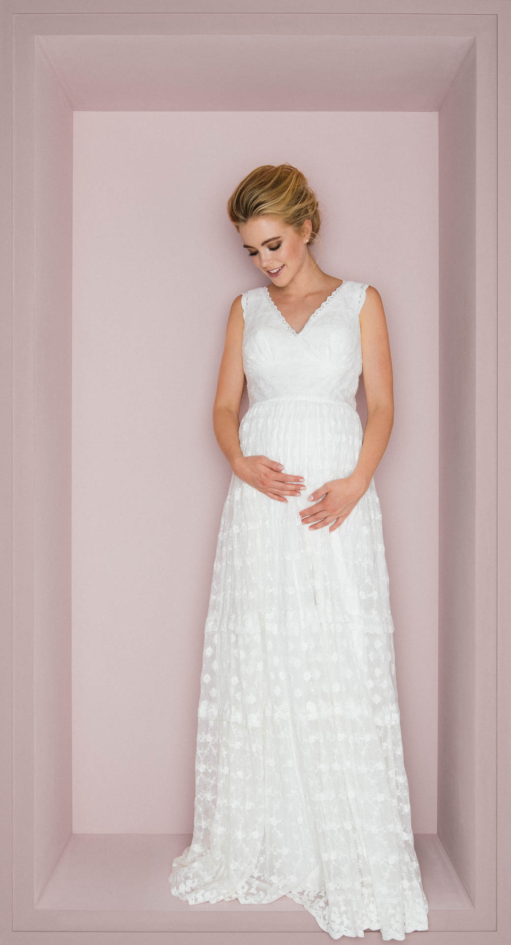 Brautkleider Fur Schwangere Mit Tragekomfort Stil Schwanger Heiraten