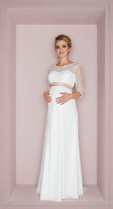 schwanger im Brautkleid