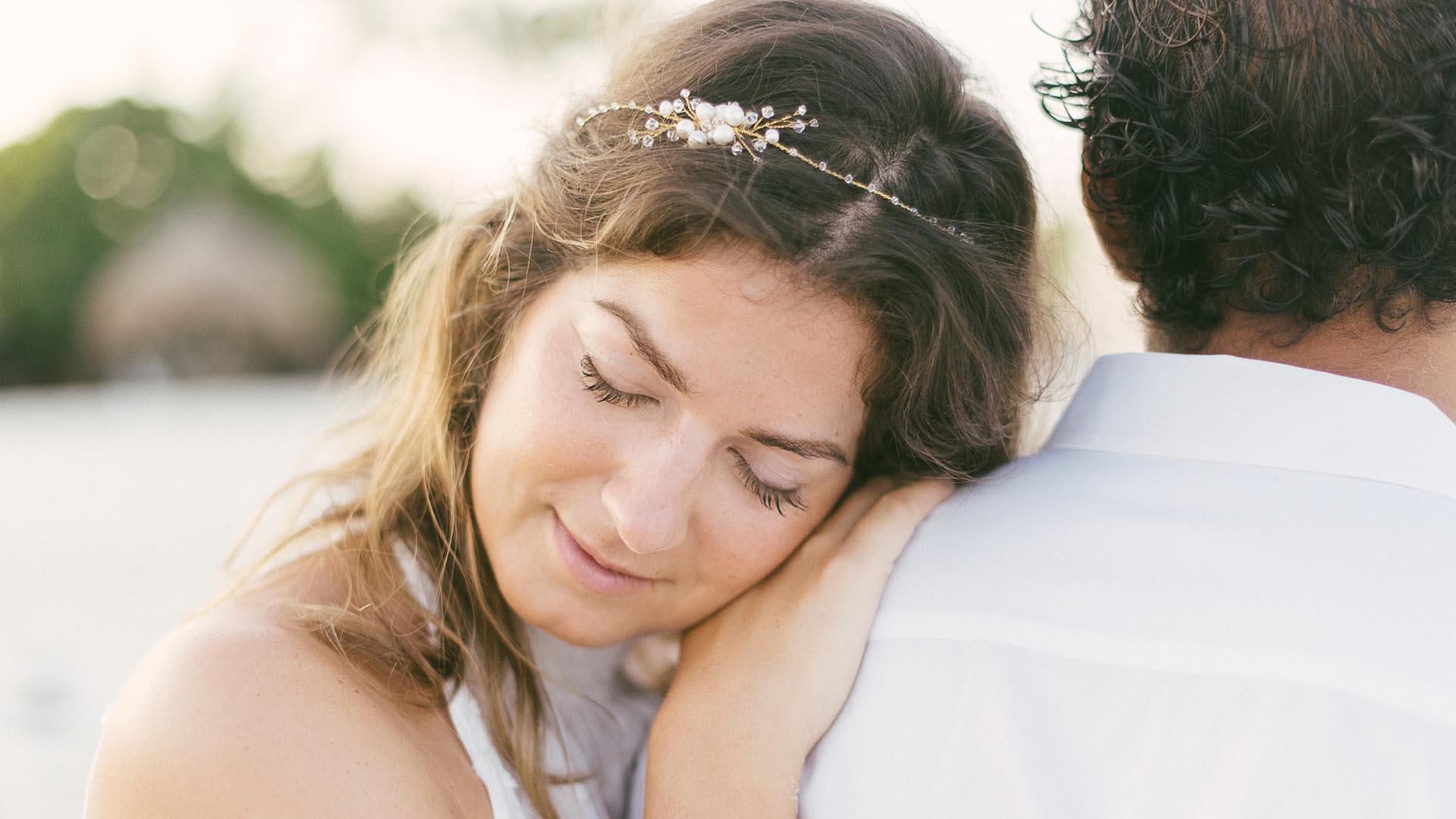 Brautschmuck zum Strand Hochzeitskleid