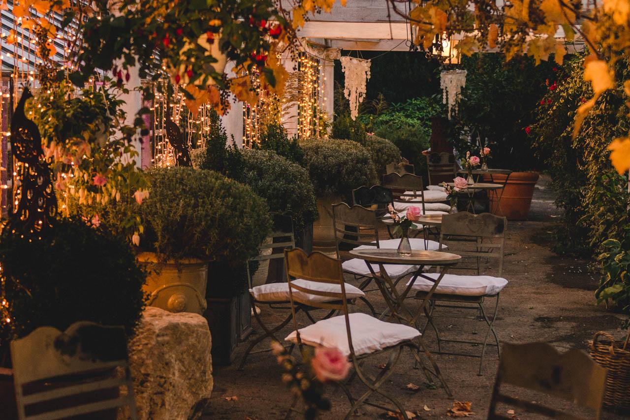 Herbsthochzeit in der Alten Gärtnerei im Taufkirchen
