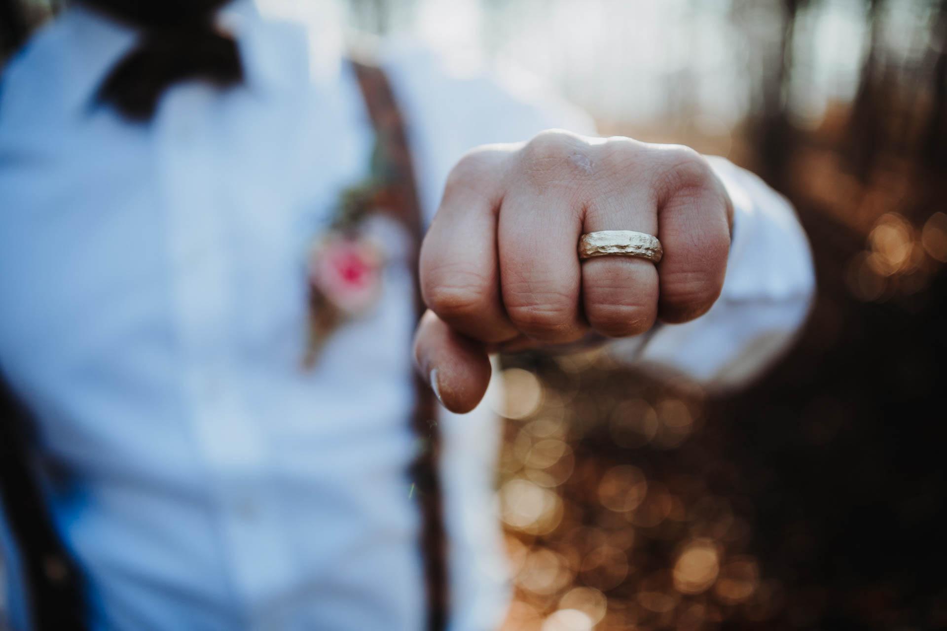 Ring des Bräutigams