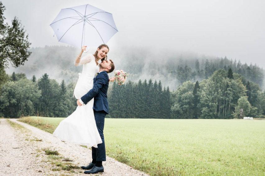 Hochzeit im September von Magdalena und Elias