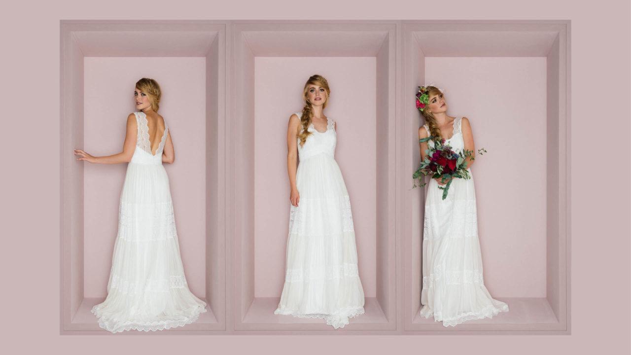 Boho Hochzeitskleid Amaia