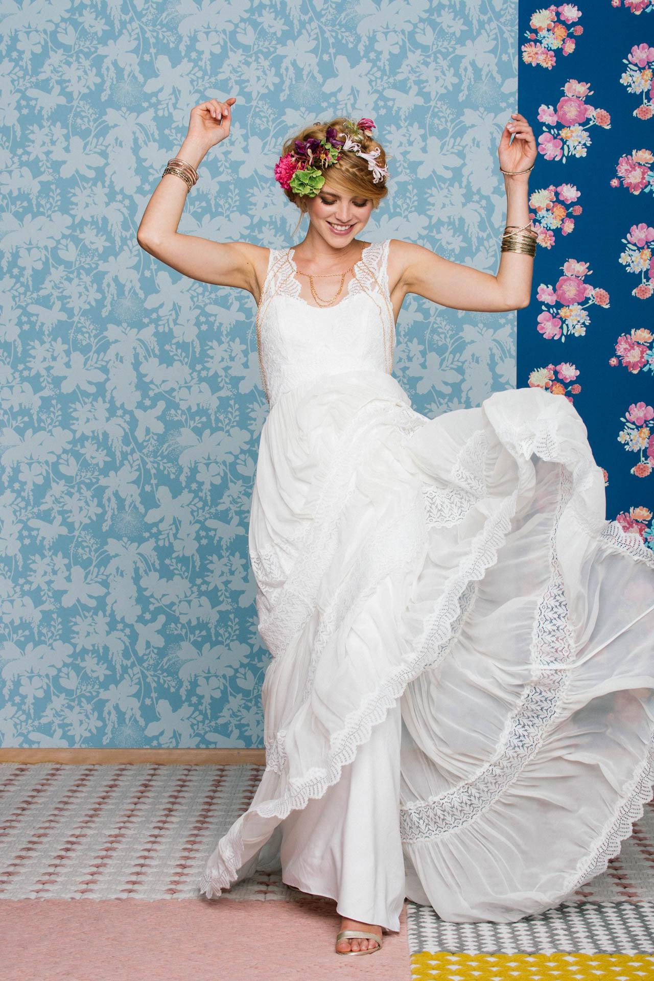 Boho Hochzeitskleid – Amaia