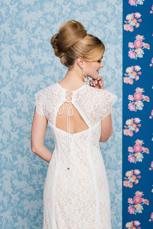 Brautkleid mit Rückenausschnitt Lia in Nude