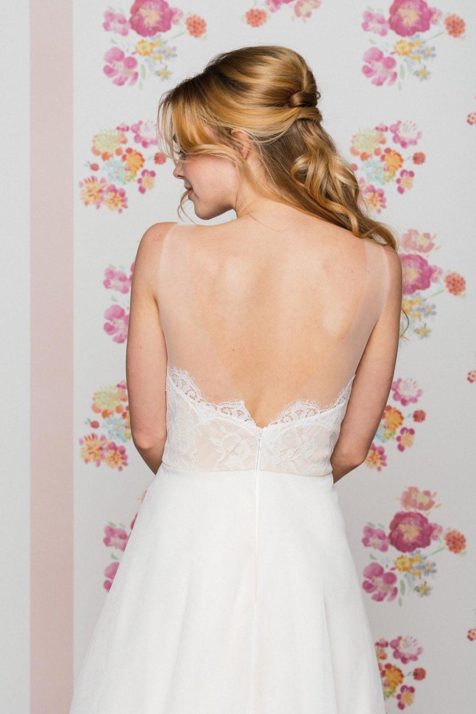 Brautkleid mit tiefem Rücken Loni