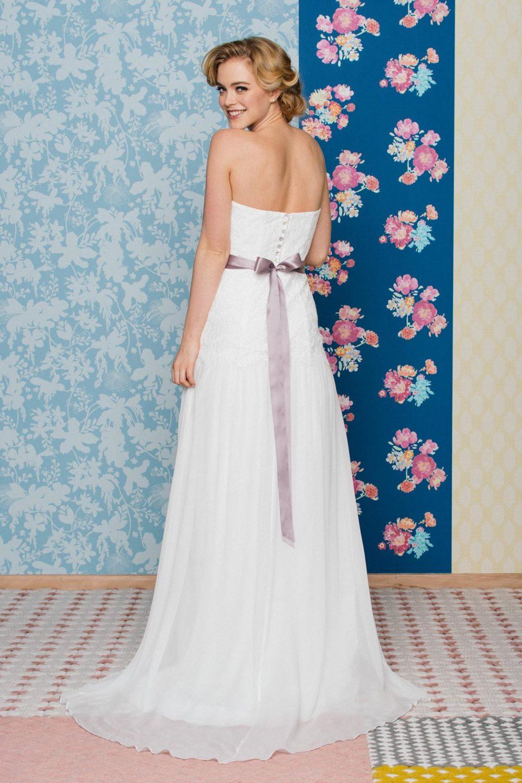 Sexy Brautkleid von hinten