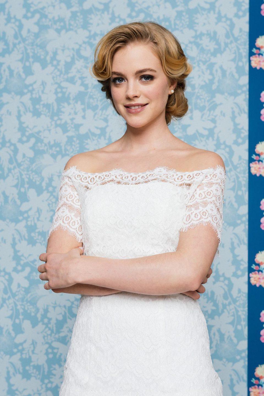 Sexy Brautkleid mit Spitze