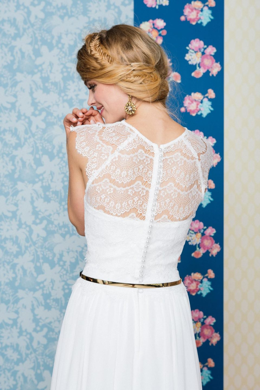 Brautkleid inspiriert vom 20er Jahre Stil – Vintage Kleid mit