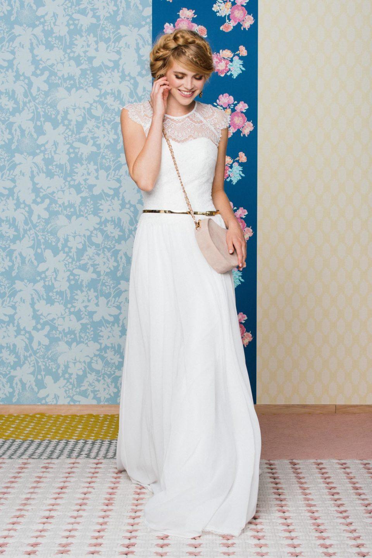 Brautkleid inspiriert vom 15er Jahre Stil – Vintage Kleid mit