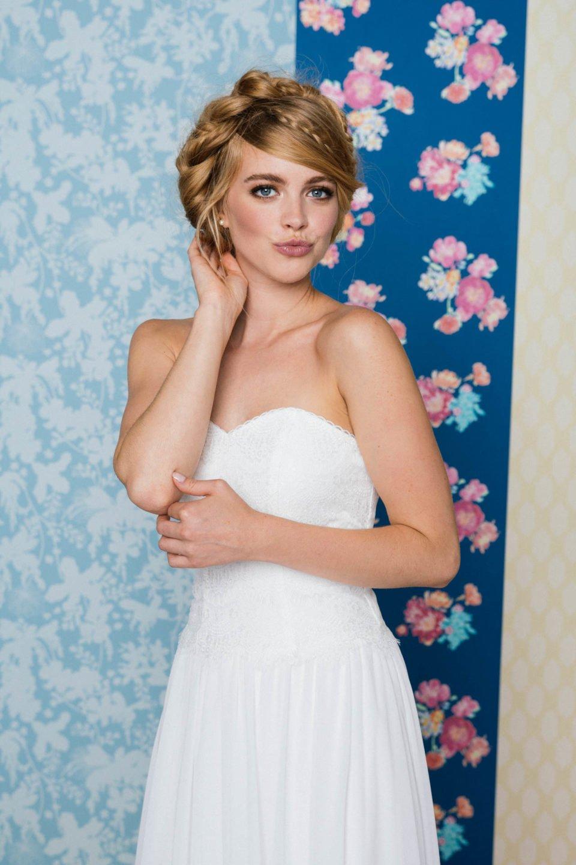 Brautkleid im 20er Jahre Stil Paulina