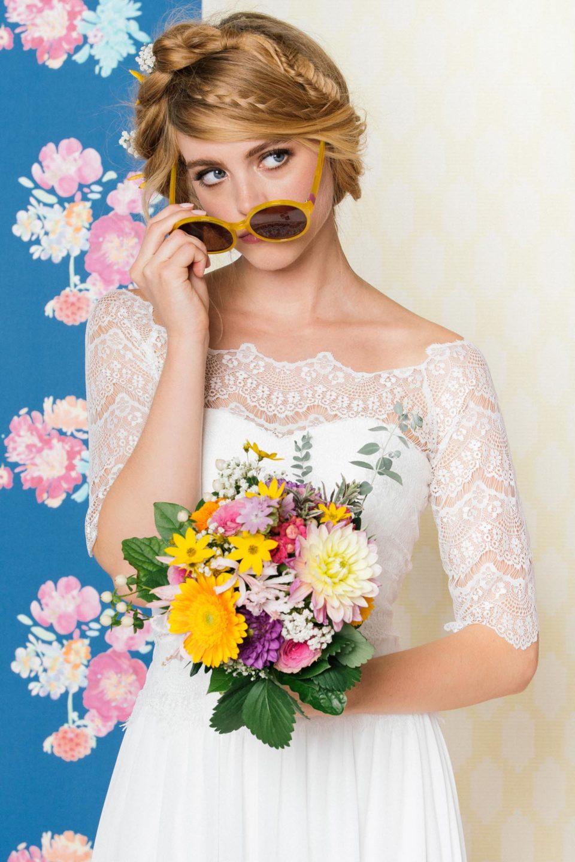 Brautkleid 20er Jahre Stil