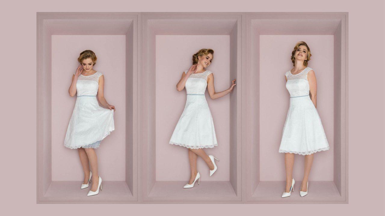 Brautkleid 50er Jahre – Bibi