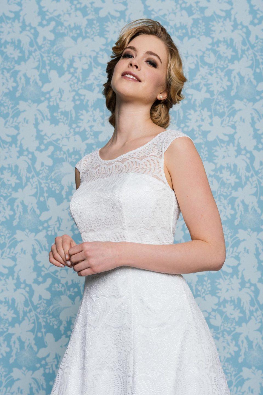 Brautkleid 50er Jahre Stil