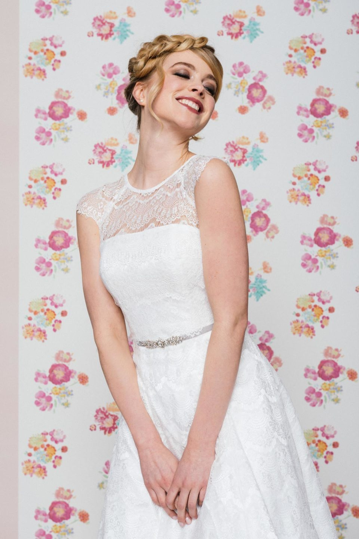 Brautkleid mit Petticoat