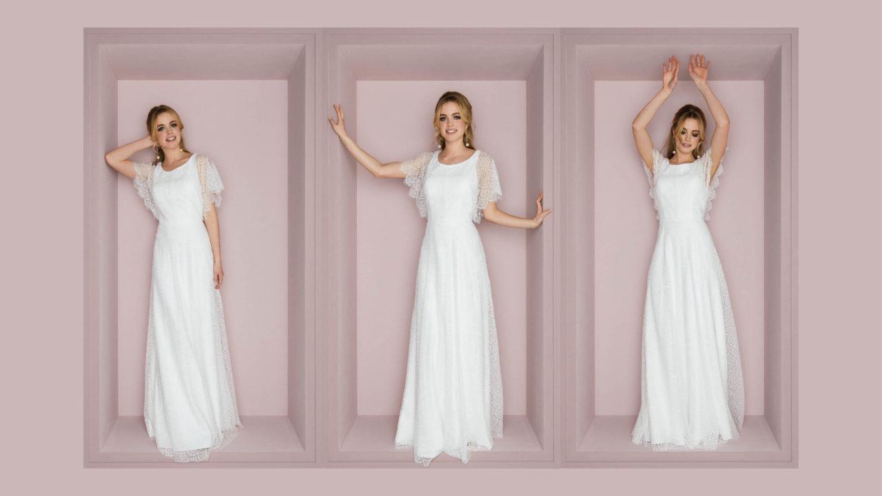 Brautkleid mit Spitze Toni