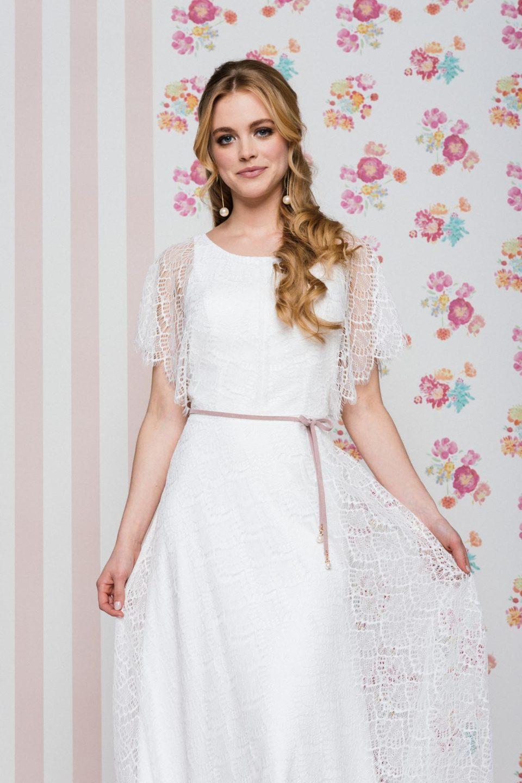Brautkleid mit Fledermausärmeln Toni