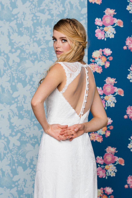 Hochzeitskleid rückenfrei