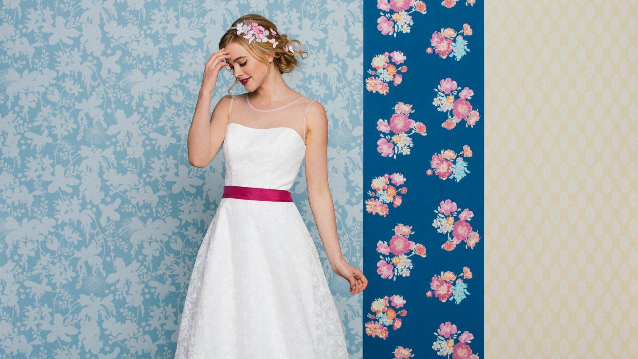 A Brautkleider A-Linie – dezent bis weit & immer wunderschön leicht