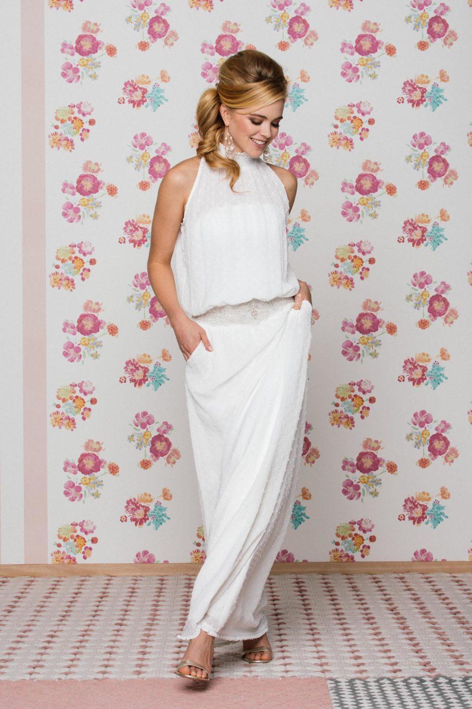 New Boho Brautkleid mit Taschen