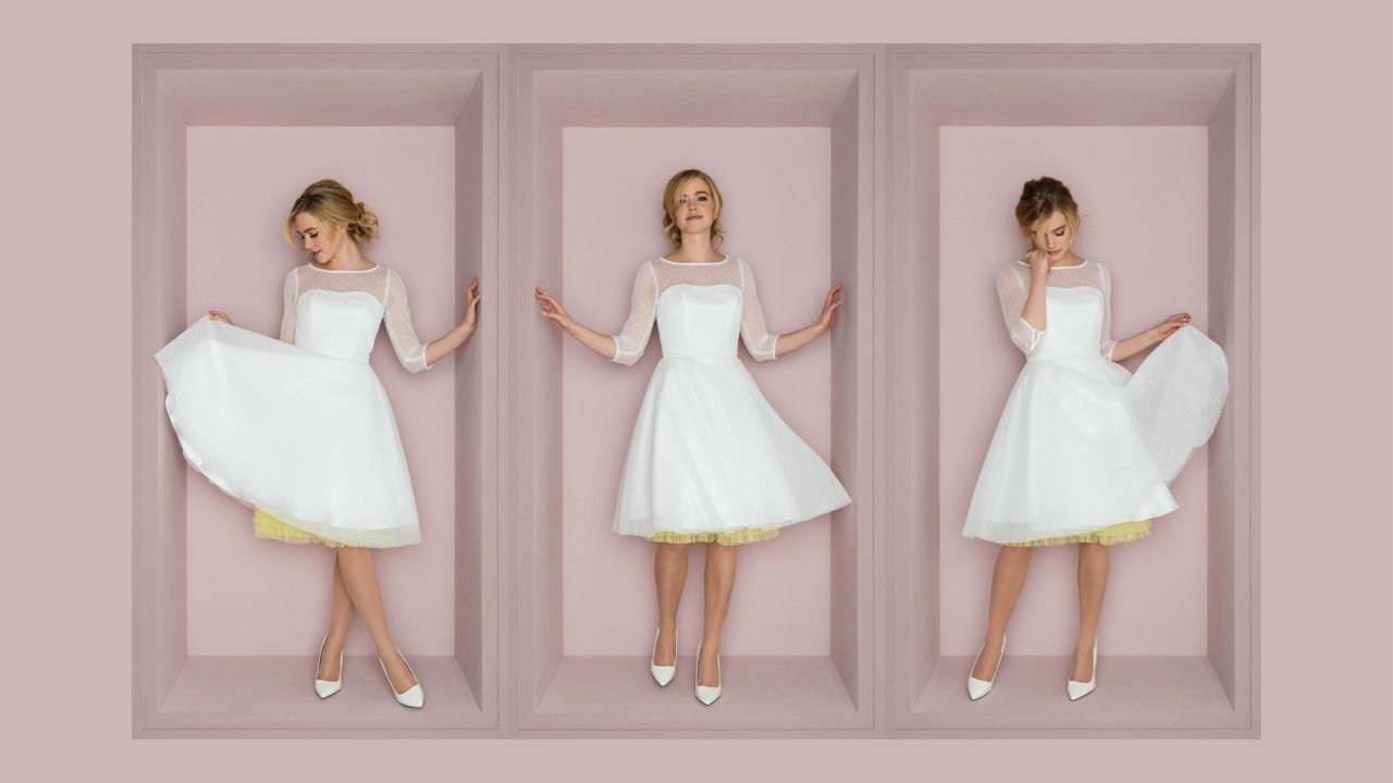 Rockabilly Hochzeitskleid – Lissi