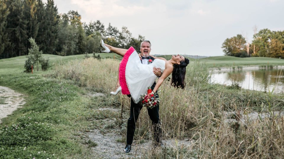 Rockabilly Hochzeitskleider mit Petticoats
