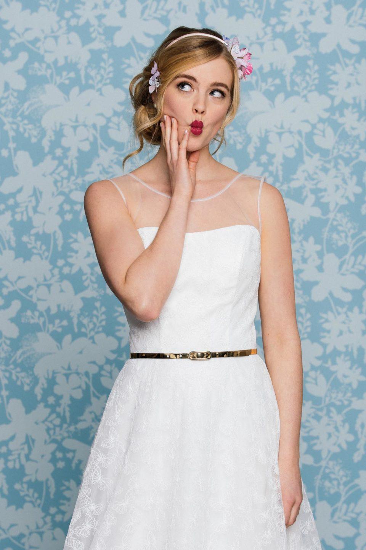 Schönes Hochzeitskleid