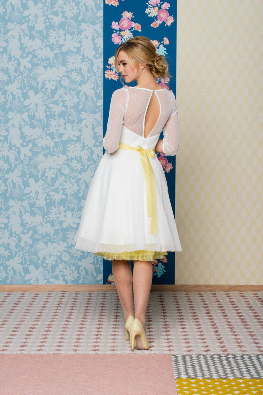 Rockabilly Hochzeitskleid für's Standesamt