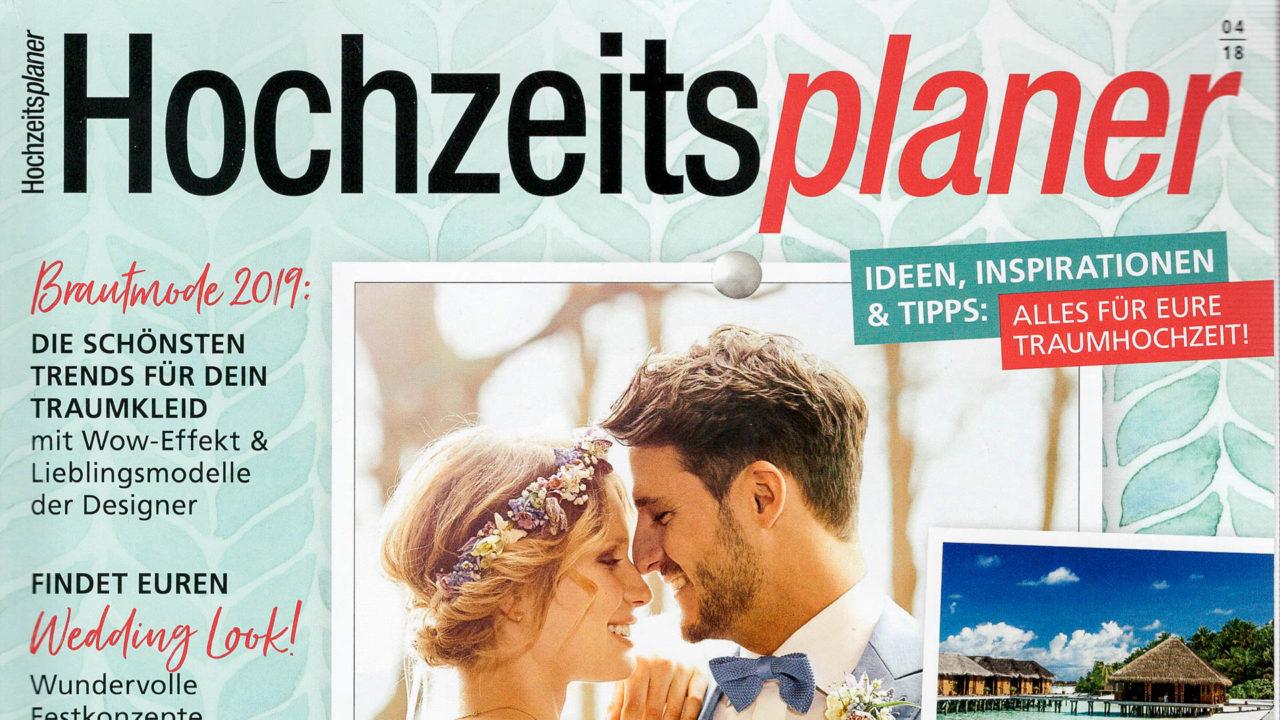 Magazin Hochzeitsplaner 2018