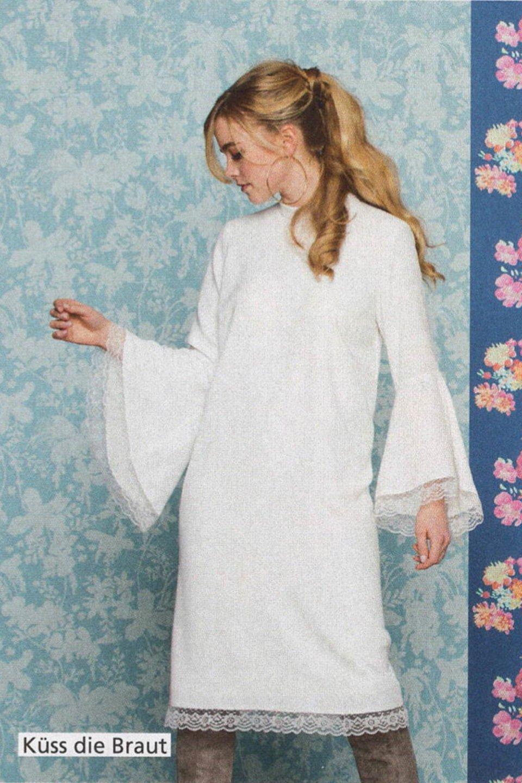 Knielanges Brautkleid im Hochzeitsplaner