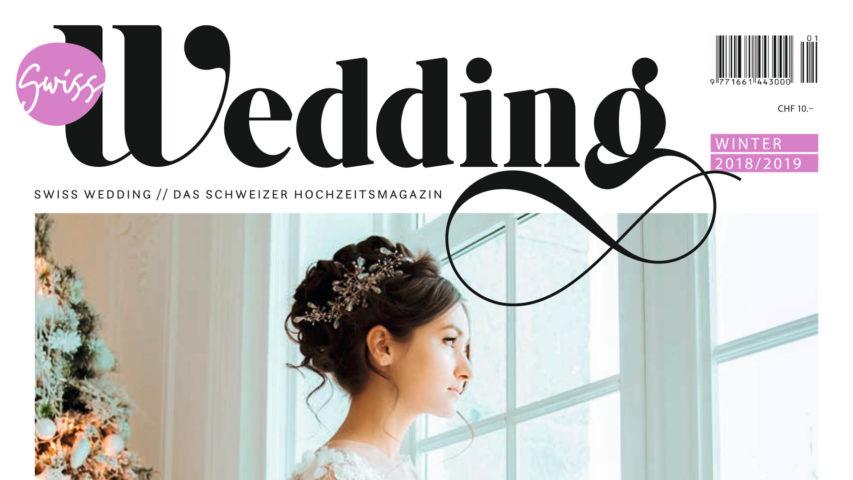 Brautmode Neuheiten – küssdiebraut im Magazin Swiss Wedding