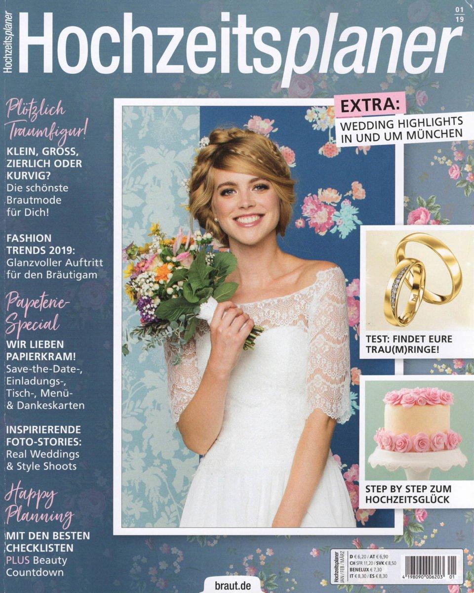 Hochzeitsplaner Cover 2019