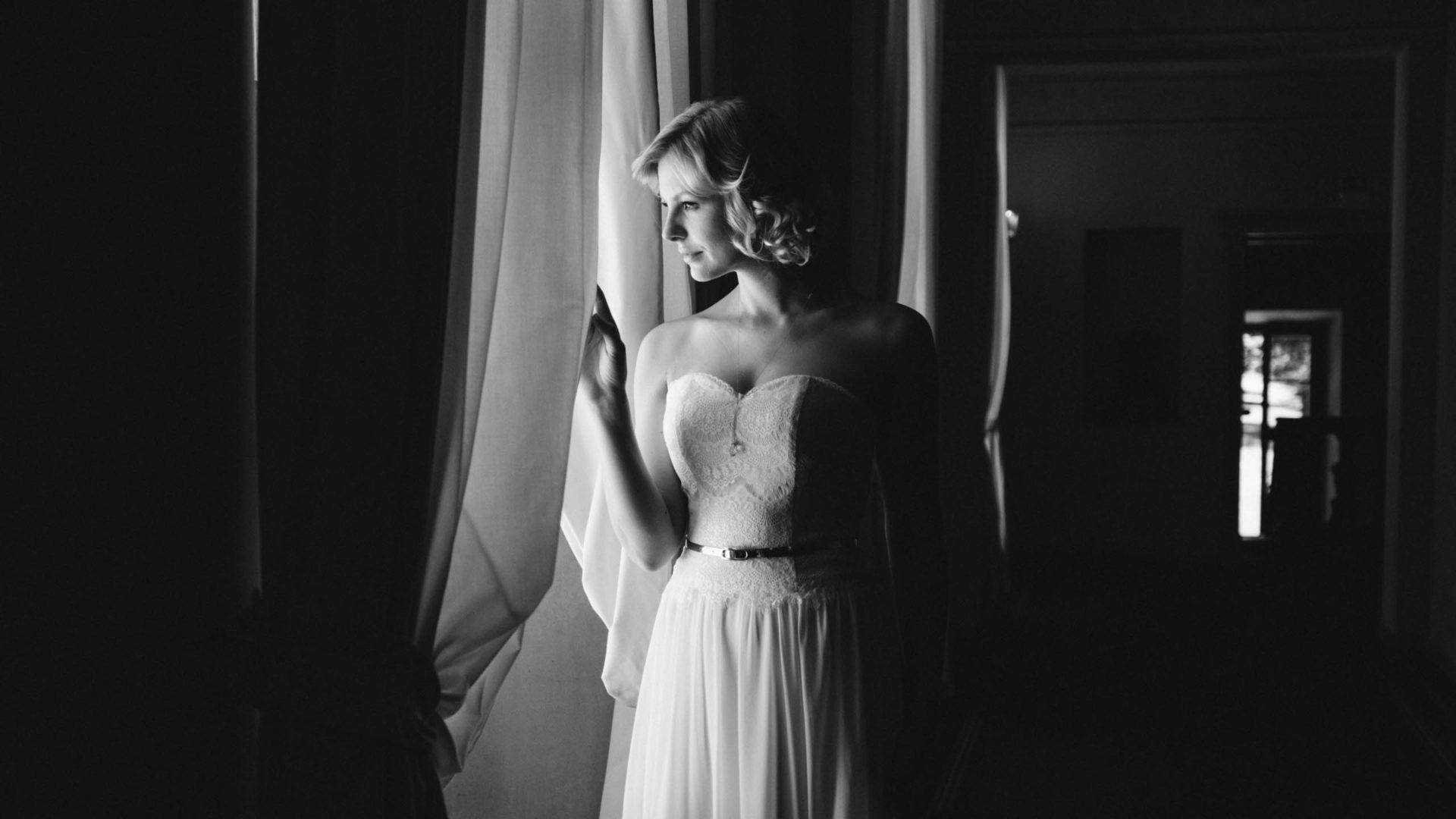 Vintage Hochzeitskleid mit Spitze – Paulina