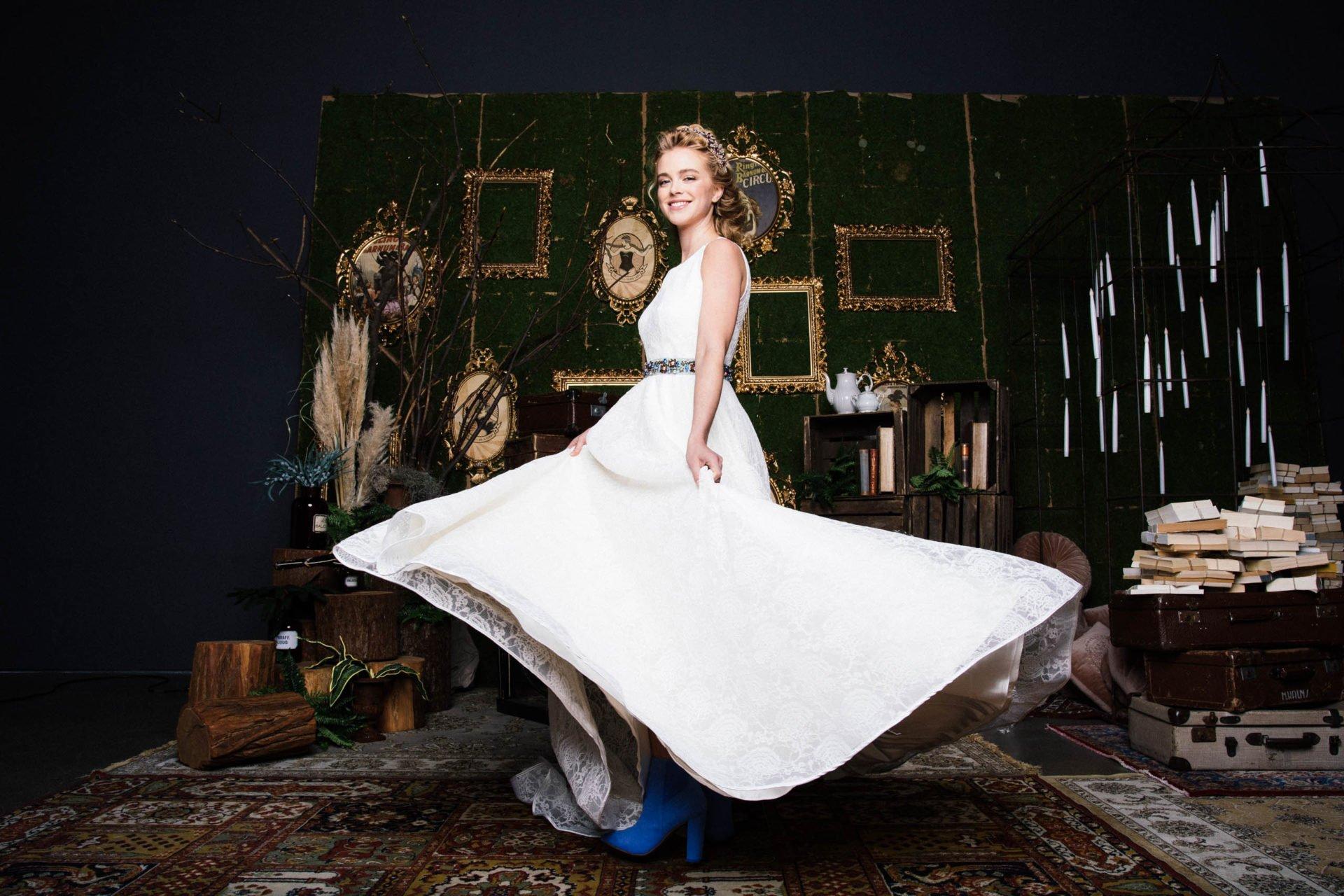 Brautkleid mit Taschen & weitem Rock  Vintage Traumkleid entdecken